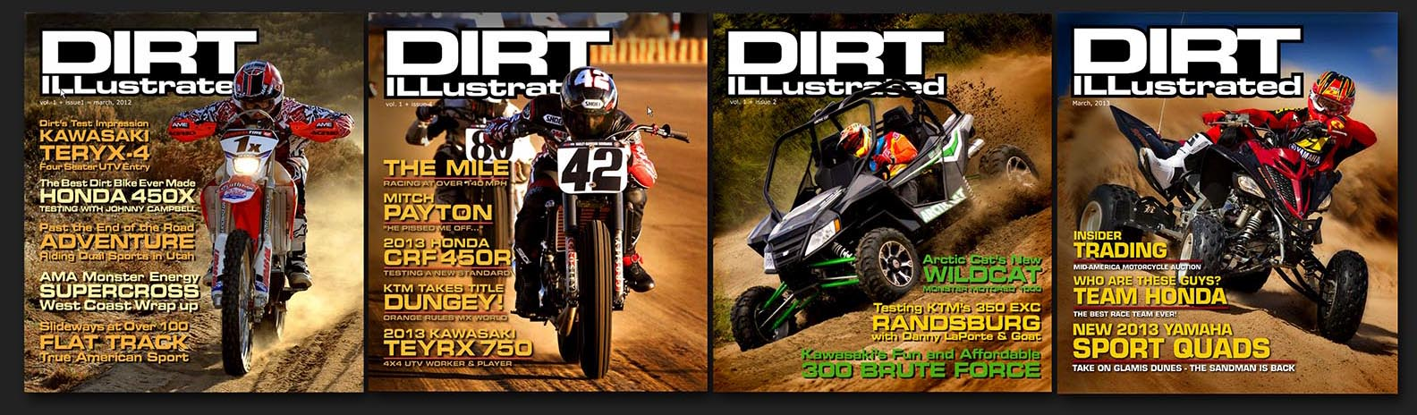 Dirt Illustrated magazine